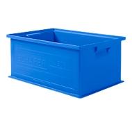Stapelkasten 14/6-2, 10 Stück, 21 l, blau