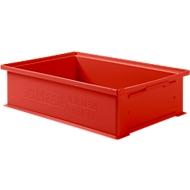 Stapelkasten 14/6-2H, Kunststoff, 12 l, rot