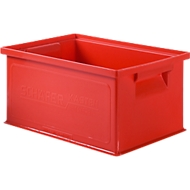 Stapelkasten 14/6-3, Kunststoff, 7 l, rot
