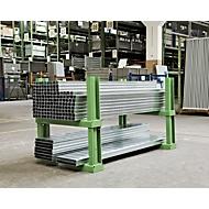 Stapelpallet STF 1252, groen