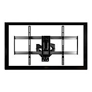 StarTech.com Full-Motion TV-Wandhalterung- für 32 bis 75 Zoll Fernseher - Stahl & Aluminium - Premium - Flachbild-TV-Halterung - Wandhalterung