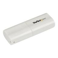 StarTech.com USB Audio Adapter - Externe USB Soundkarte - Weiß - Soundkarte