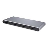 StarTech.com USB-C Kartenleser 4 Slot - SD Karte - USB 3.1 (10Gbit/s) - SD4.0, UHS-II - Kartenleser - USB 3.1