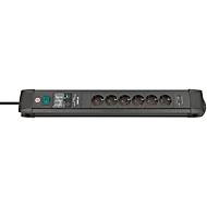 Steckdosenleiste Brennenstuhl Premium Line, 6-fach, 2 x USB, IP20, Überspannungsschutz bis 30000 A, Kunststoff