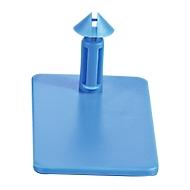 Steckverschluss CC Box 2, blau, 500 Stück