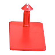 Steckverschluss CC-Box 3, rot, 500 Stück
