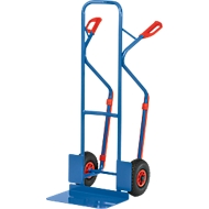Steekwagen gr. schep, rub. wielen, 17 kg