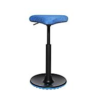 Stehhilfe Topstar Sitness H1, höhenverstellbar, um 360 ° drehbar, dynamisches Sitzen & Stehen, blau/blau