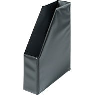 Stehsammler, Breite 80 mm, PVC, 5 Stück, schwarz