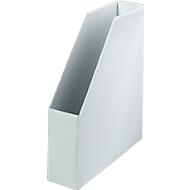 Stehsammler, Breite 80 mm, PVC, 5 Stück, weiß