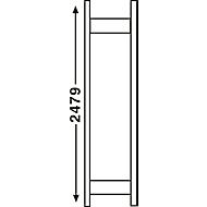 Stellingsysteem R 3000, frame, H 2490 x D 300 mm