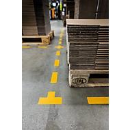 Stellplatz-Markierung Durable, selbstklebend in T-Form, für Böden, 10 Stück