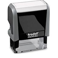 Stempel trodat® Eco-Printy Office mit Text GEBUCHT