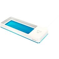 Stifteschale Leitz WOW, mit Induktionsladegerät, weiß/blau