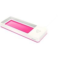Stifteschale Leitz WOW, mit Induktionsladegerät, weiß/pink