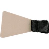 Stiftschlaufe, selbstklebend, schwarz