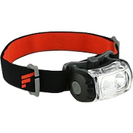 Stirnlampe FOCOSLIDE BEAMASTER H1117, LED, Reichweite 85 m, Batterie 4,5 h, IP54, 200 lm