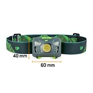 Stirnlampe GP Hands Free CH34, LED, 160 lm, Bewegungssensor, diverse Modi, Leuchtweite bis 90 m, bis 20 h, inkl. Batterien