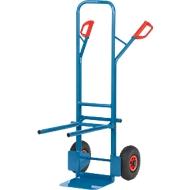 Stoelwagen/steekwagen, massief rubberen banden