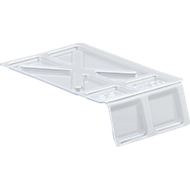 Stofdeksels, voor Fix-magazijnbakken LF 221 - 10 stuks