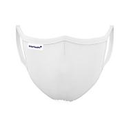 Stoffmaske Deluxe Lady, Weiß, Auswahl Werbeanbringung optional