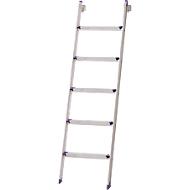 Stufenanlegeleiter Lila-Serie, 5 Stufen