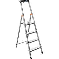 Stufenstehleiter Safety, 4 Stufen