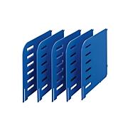 styro® Trennwand, für Sortierstion Styrorac, 5 Stück, blau