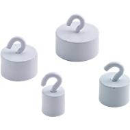 Super Kraftmagnete, weiß, 15 mm