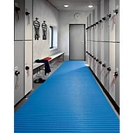 Supergrip PVC mat Soft, 800 mm breed, blauw