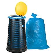 Support en polypropylène pour sacs poubelle avec 100 sacs poubelle