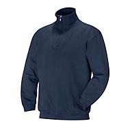 Sweatshirt 1/2 zip marine 3XL