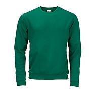 Sweatshirt, Dunkelgrün, L, Auswahl Werbeanbringung optional