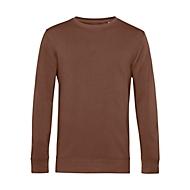 Sweatshirt Organic, Mokka, XXL, Auswahl Werbeanbringung optional