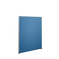 Sys 50 scheidingswand, B 1000 mm x H 1200 mm, blauw