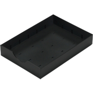 Systeemlade voor sorteerstation Styro styrodoc, zwart