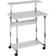 System Computer Trolley 80 VH gris