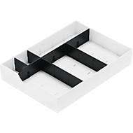 System-Schublade für Sortierstation Styro styrodoc, weiß