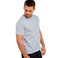T-Shirt, Grau meliert, XL, Auswahl Werbeanbringung optional