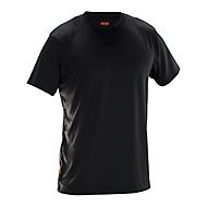 T-Shirt Jobman 5522 PRACTICAL Spun Dye, Rundhals, PSA 1, OEKO-TEX® SE 12-141, schwarz, 4XL