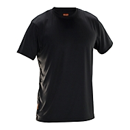 T-Shirt Jobman 5522 PRACTICAL Spun Dye, Rundhals, PSA 1, OEKO-TEX® SE 12-141, schwarz, XL
