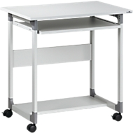 Table d'ordinateur à roulettes 75 FH, gris