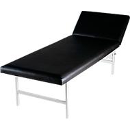 Table de massage et d'examen -  2000 x 700 x 650 mm - noir
