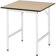 Table de travail, panneau MDF, 750 x 800 x 800-850 mm