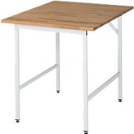Table de travail RAU, hauteur 800-850 mm, plateau hêtre
