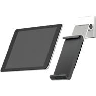 Tablet Wandhalterung DURABLE WALL PRO, für 7-13″, um 360° drehbar, mit Neigungswinkel, Diebstahlschutz