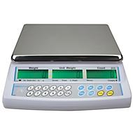 Tafelmodel telweegschaal serie CBC, met programmeerbare displayverlichting, eenvoudig telsysteem, capaciteit 15 kg