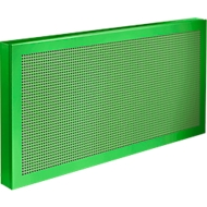 Tafelscheidingswand Akustika, B 800 x H 400 mm, groen