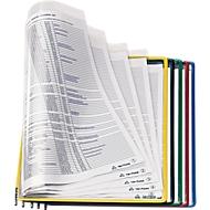tarifold Sichttafeln DIN A4, farbsortiert, 10 Stück