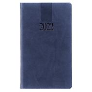 Taschenkalender Tucson, 128 Seiten, B 90 x H 155 mm, Werbedruck 60 x 40 mm, blau, Auswahl Werbeanbringung erforderlich
